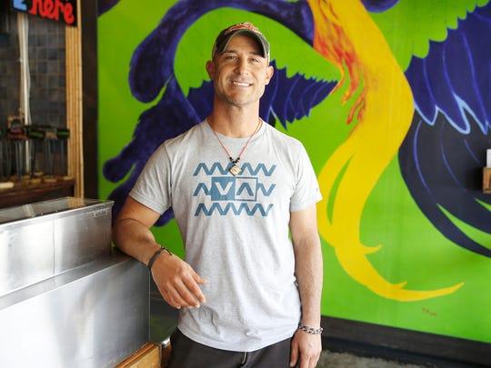 Josh Wamsley, chef at Mazunte.