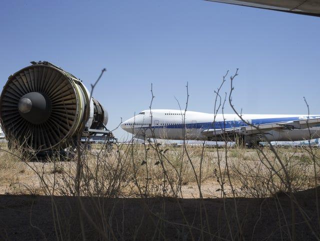 Pinal Airpark: Once-secretive aircraft boneyard slowly opens its gates
