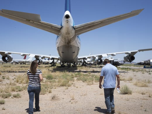 Pinal Airpark: Once-secretive aircraft boneyard slowly opens
