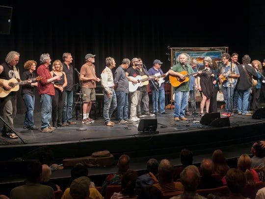 The 2016 Contemporary Folk Jam at the 25th Swannanoa