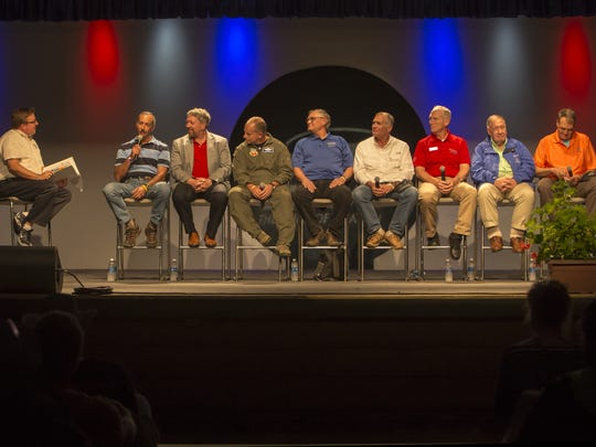 A panel of key people who took part in Desert Storm