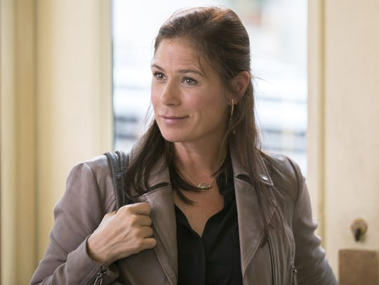 In this image released by Showtime, Maura Tierney appears