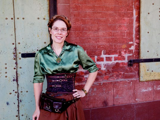Author Beth Cato writes novels set in a steampunk alternate world.
