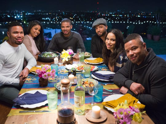 The Smollet siblings (Jocqui, Jazz, Jake, Jussie, Jurnee,