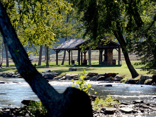 The French Broad River acts as one of the boundaries of Olivette, an agrihood community, which has already been used to host events such as weddings and is in phase 1 of their development.