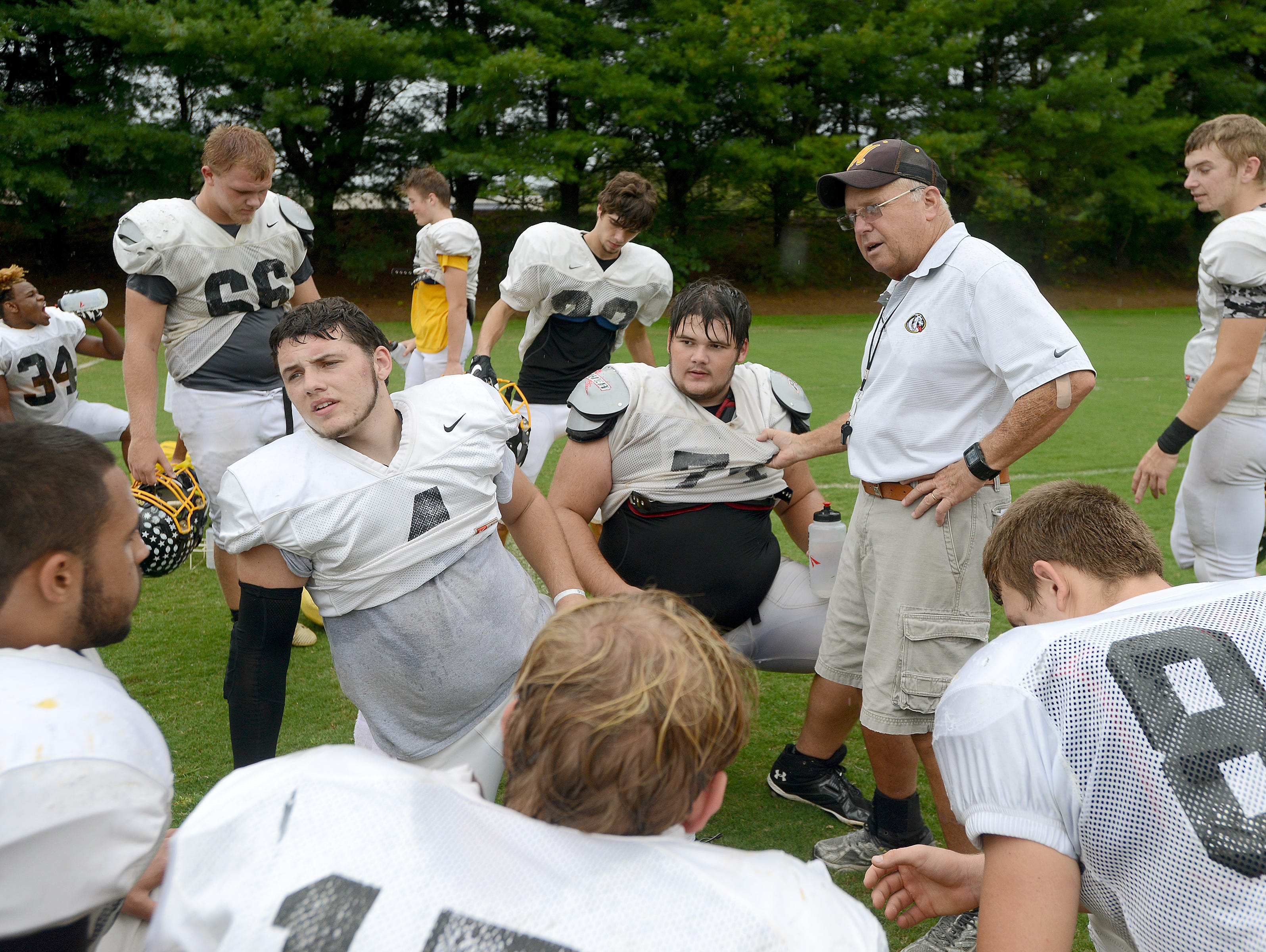 Murphy's David Gentry is the head coach for this year's North Carolina Shrine Bowl team.