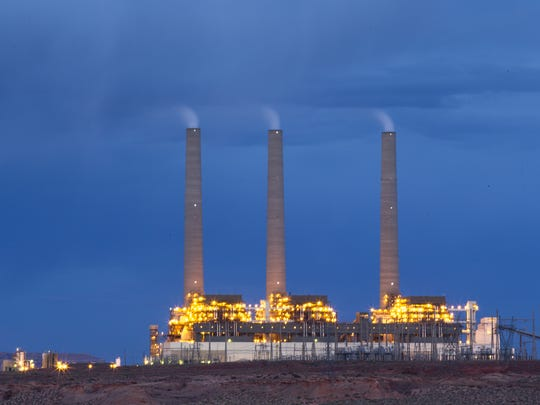 Navajo Generating Station: The plant employs about 500 on land owned by the Navajo Nation.