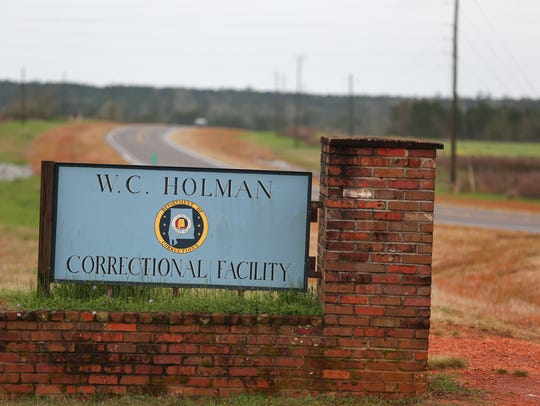 The William C. Holman Correctional Facility in Atmore