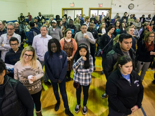 The Americana Community Center on Southside Drive hosted a gathering on Tuesday night to unite the public and embrace its diversity after a contentious election season. 11/15/16
