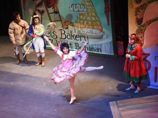 Josefina Javelina (Chelsea Soto) dances the Sugar Plum