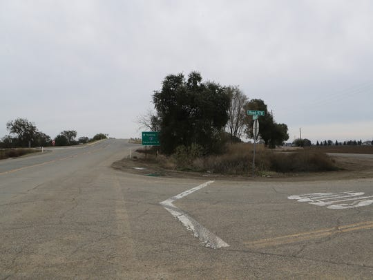A section of road along County Road 17 and Interstate 5 in Redding, Calif., shown on Friday, Nov. 25, 2016, is where Sherry Papini, a 34-year-old wife and mother was found on Thanksgiving Day. Authorities are looking for two armed women they believe abducted Papini on Nov. 2.