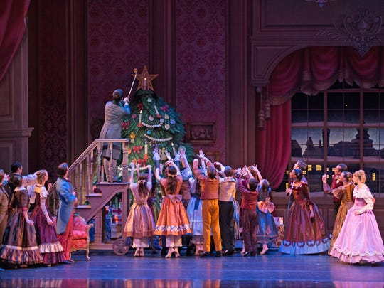 The Nutcracker is performed most nights now through Dec. 24 at the Kauffman Center for Performing Arts.
