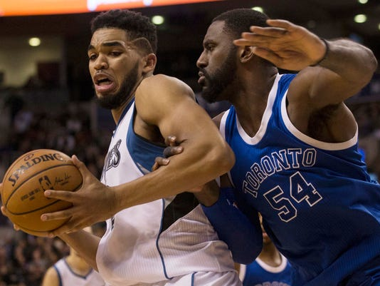 Karl-Anthony Towns, Patrick Patterson