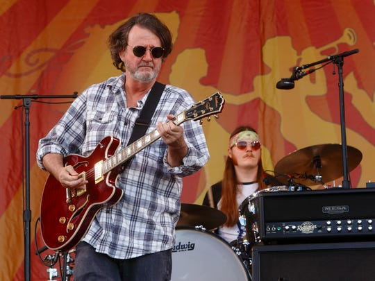John Bell and Widespread Panic performs at the New Orleans Jazz & Heritage Festival on Thursday, April 30, 2015, in New Orleans, Louisiana.