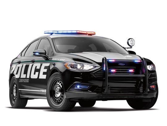Ford-Police Responder Hybrid sedan