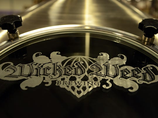 The new, massive Wicked Weed production brewery in