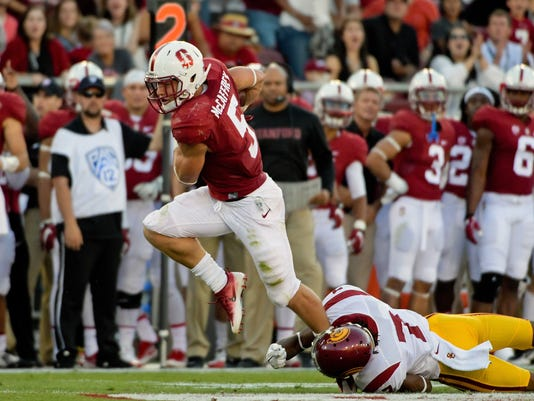 NCAA Football: Southern California at Stanford