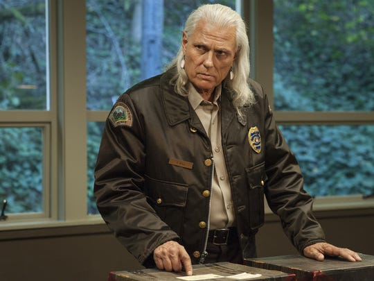 Hawk (Michael Horse) is now deputy chief at the sheriff's