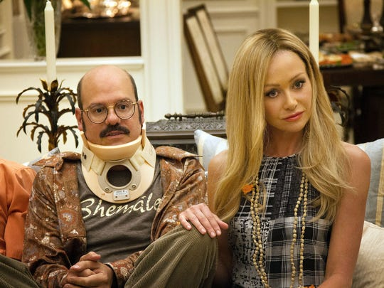 "David Cross and Portia de Rossi star in ""Arrested Development."""