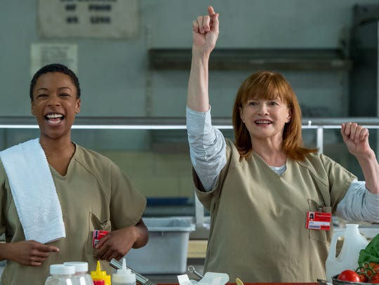 "Samira Wiley and Blair Brown in Netflic's ""Orange Is"