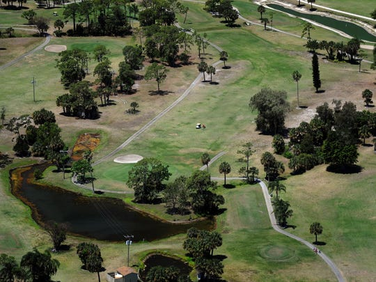 The golf course would remain 36 holes and a new elevated