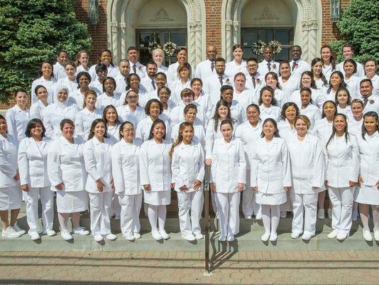 New nurses graduate from Trinitas School of Nursing PHOTO CAPTION