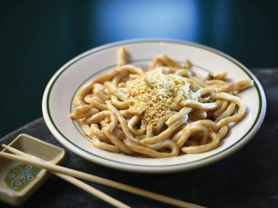 Sesame noodles from Baumgart's Cafe in Englewood