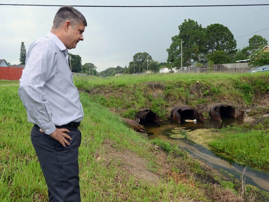 Greg Stone, Stormwater Utility Manager for the City