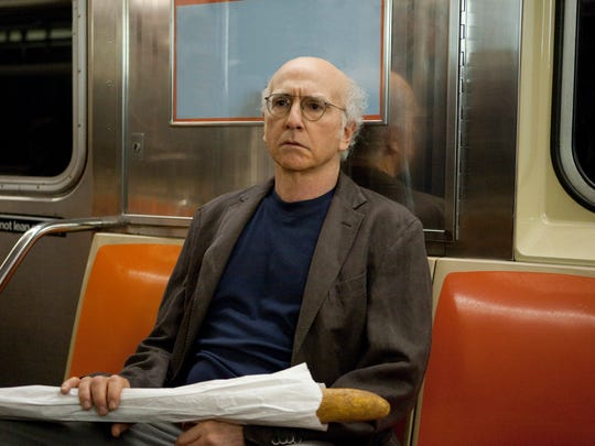 Larry David in a 2010 scene from HBO's 'Curb Your Enthusiasm.'
