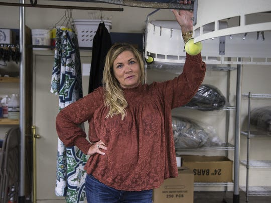 Carla Jetton, owner of Greenfield Cleaners in Mesa,