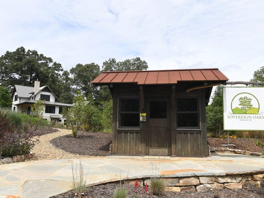 Sovereign Oaks is a new community in East Asheville