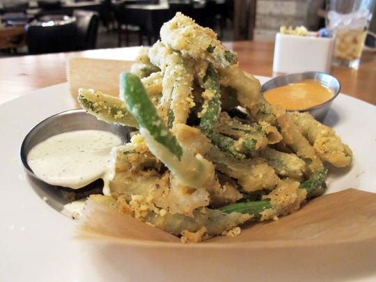Fried green beans at Burntwood Tavern in Mercato in North Naples.