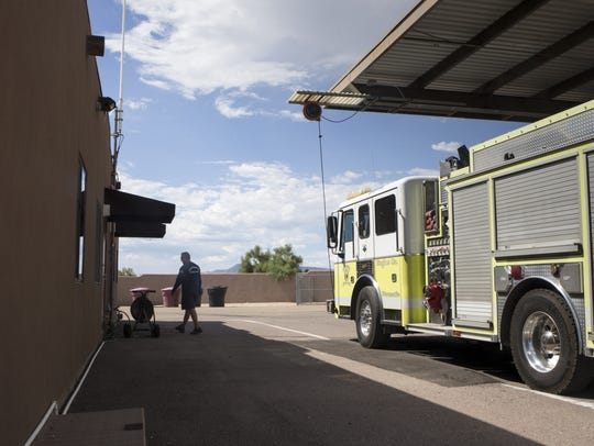 Scottsdale Fire Station 616 at 9192 N. Cave Creek Road