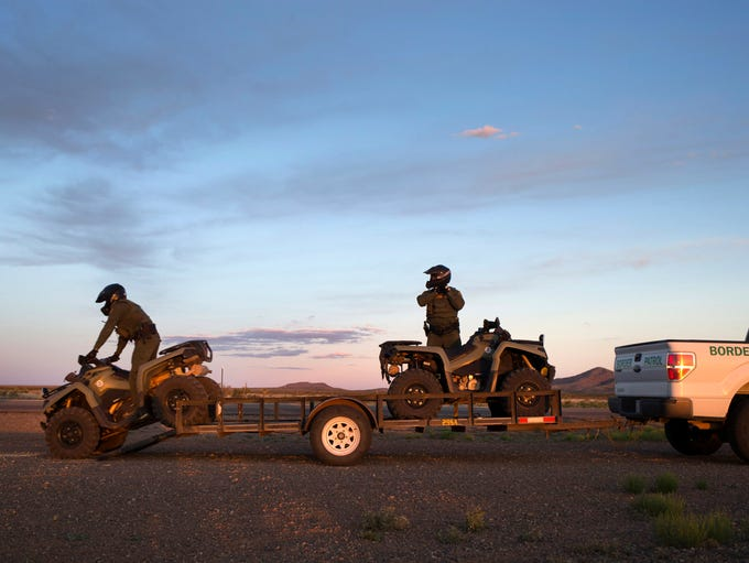 In New Mexico's Bootheel, Border Patrol agents who
