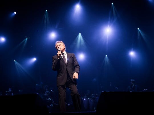 Frankie Valli performs with The Four Seasons at the