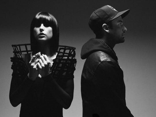 Phantogram headlines the 2018 80/35 Music Festival, set for July 6 and 7 in downtown Des Moines.