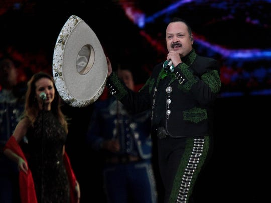 """Pepe Aguilar will perform Aug. 25 in El Paso as part of his """"Jaripeo Sin Fronteras"""" tour"""