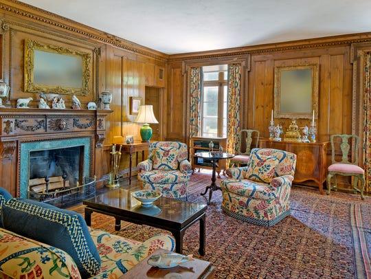 Hudson PInes, the estate of the late David Rockefeller,