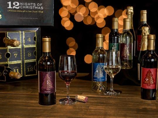 Cooper's Hawk wine advent calendar. Cooper's Hawk has