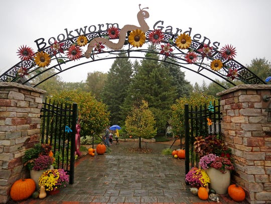 The entrance of Bookworm Gardens during the Children's