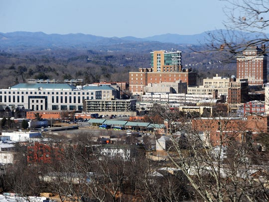 Property is assessed at more than $15 billion in the  Asheville. Property taxes are the city's chief revenue source.