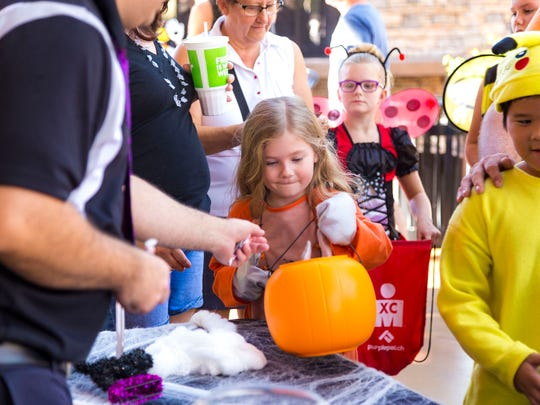 Creepy Candy Crawl at Desert Ridge Marketplace on Oct. 28, take part in themed costume contests: families and groups; homemade or unique costumes; TV, literary or historical figures;andscary attire.