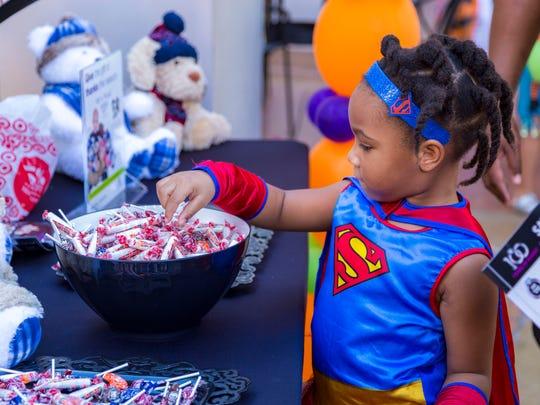 Come in costume at Desert Ridge Marketplace's Creepy Candy Crawl.