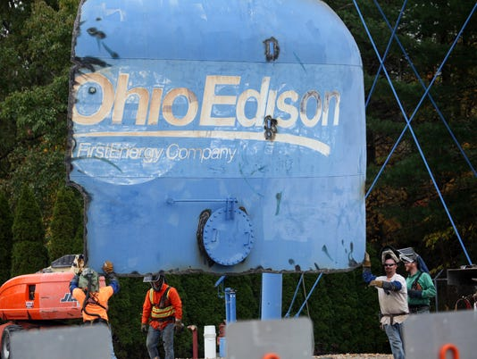 ohio-edison-water-tower-removed