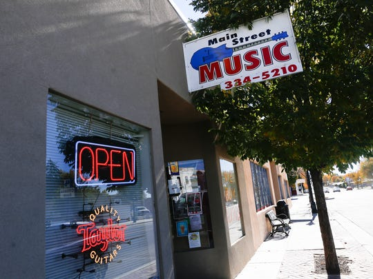 Main Street Music has been a fixture in downtown Aztec for 13 years.