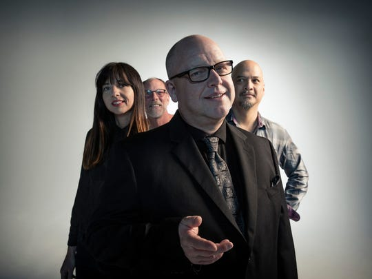 Pixies (from left, Paz Lenchantin, David Lovering,