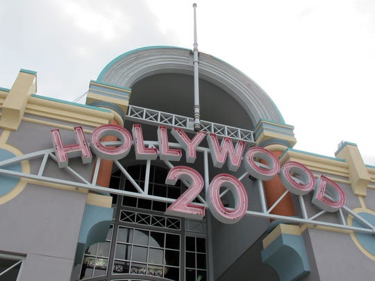Hollywood 20 movie theater off Naples Boulevard in North Naples remains temporarily closed because of damage from Hurricane Irma.