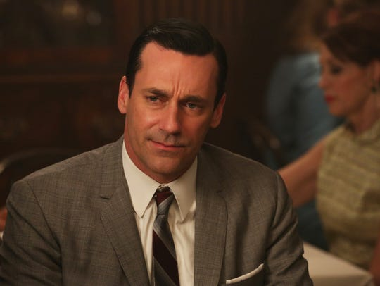 "Jon Hamm, forever cool as ad man Don Draper in ""Mad Men."""