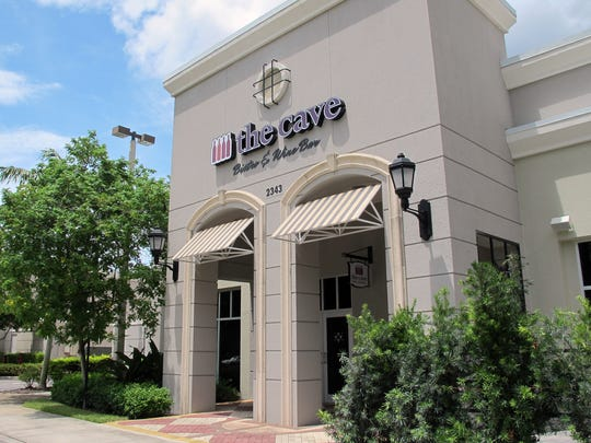 The Cave Bistro & Wine Bar is an extension of Naples Wine Collection in the Galleria Shoppes at Vanderbilt on the northwest corner of Airport-Pulling and Vanderbilt Beach roads.