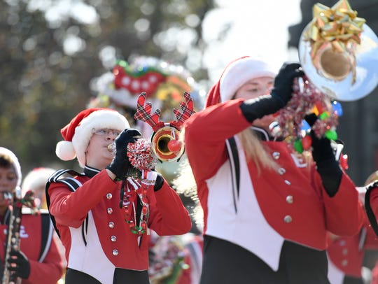 Thousands came out for the 71st annual Holiday Parade
